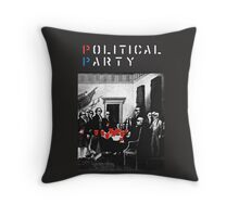 Political Party Throw pillows & totes (red solo solos, shades, beer pong) shirt also available  Throw Pillow