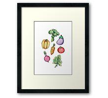 Garden Fresh  Framed Print