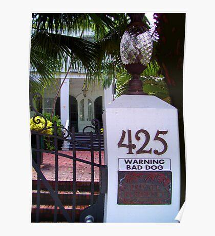 425 Bad Dog Poster