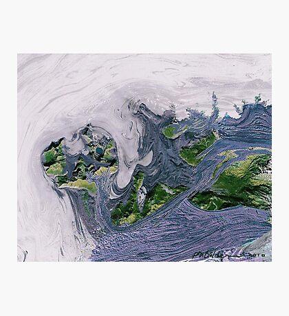 """Flood""  Photographic Print"
