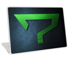 Question Mark Laptop Skin