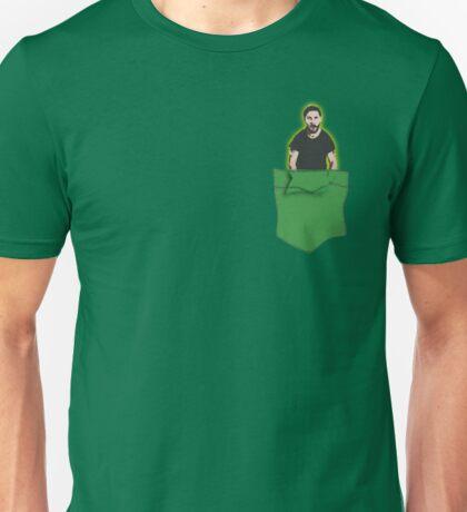 JUST DO IT - Shia Labeouf Pocket Companion Unisex T-Shirt