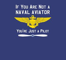 Naval Aviator Womens Fitted T-Shirt