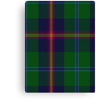 00011 Young Clan Tartan  Canvas Print