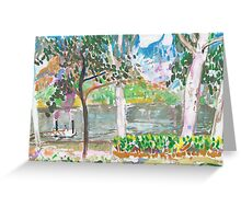 Rossiter Park Pontoon Greeting Card