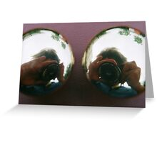 Photoscopic Eyes Greeting Card