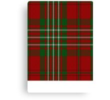 00012 Scott Clan Tartan  Canvas Print