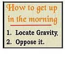 Up in the Morning by Marc Grossberg