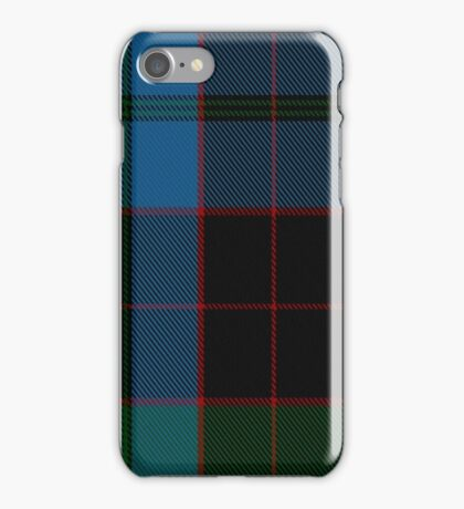 00016 Stewart of Bute Clan Tartan  iPhone Case/Skin