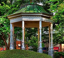 The Gazebo in the Square by Scott Mitchell