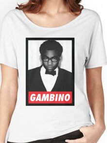 """Childish Gambino """"OBEY"""" Style Women's Relaxed Fit T-Shirt"""