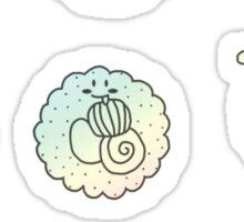 sushi rainbow Sticker