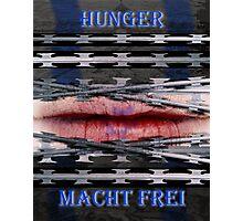 Hunger Macht Frei Version 4 Photographic Print