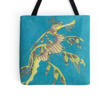Sea dragon, drawn for Papa Tote Bag