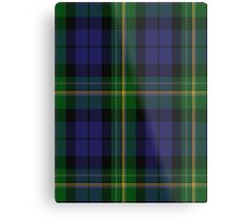 00022 Paterson (Dalgleish Version) Family Tartan  Metal Print
