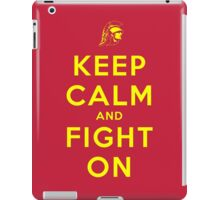 Keep Calm and Fight On (Cardinal iPhone Case) iPad Case/Skin