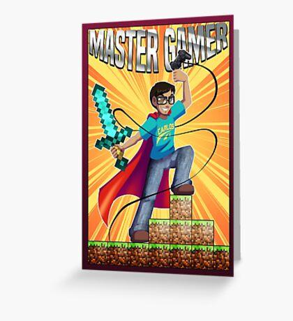Master Gamer Greeting Card
