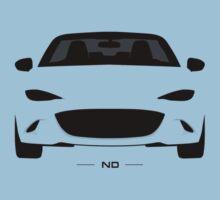 Mazda MX-5 (ND) simplistic design Kids Clothes