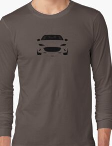 ND simplistic front end design Long Sleeve T-Shirt