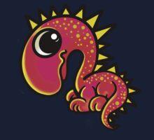 Pink Dinosaur  Kids Tee