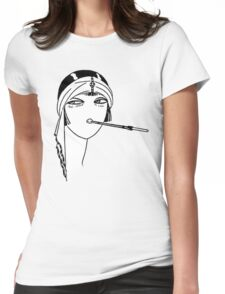 Queen of the Flappers Womens Fitted T-Shirt