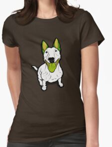 Lola Lugs Bull Terrier  Womens Fitted T-Shirt