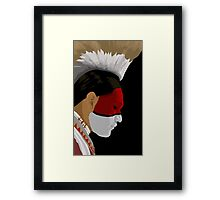 Waiting For The Drums Framed Print