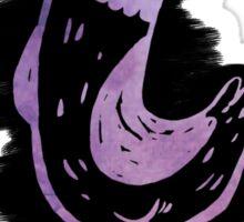 Hank The Pigeon (purple) Sticker