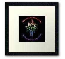 Rainbow Inquisition Framed Print