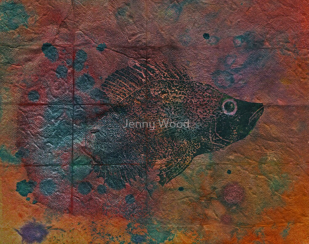Emerging with trepidation by Jenny Wood