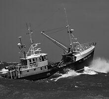 Rachel Maree Fishing Trawler by Ian Creek