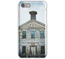 The School House Of Bannack iPhone Case/Skin