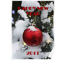 HAPPY NEW YEAR 2011 Poster