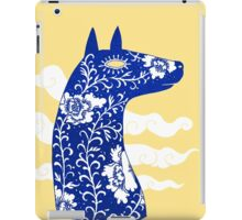 The Water Horse in Blue and White iPad Case/Skin