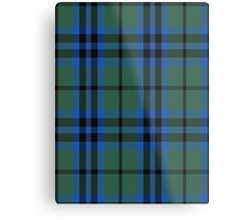 00028 Marshall #2 Clan/Family Tartan  Metal Print