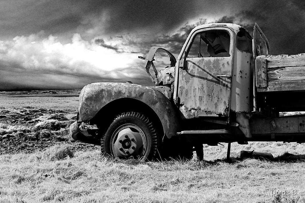 The old Volvo by Þórdis B.