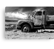 The old Volvo Canvas Print