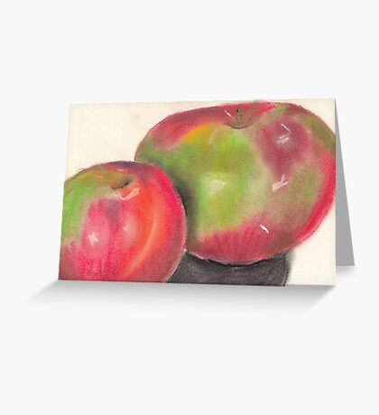 Temptation fruit Greeting Card