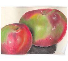 Temptation fruit Poster