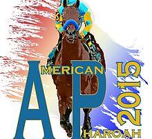American Pharoah 2015 front runner by Ginny Luttrell