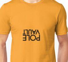Pole vault upside down Unisex T-Shirt