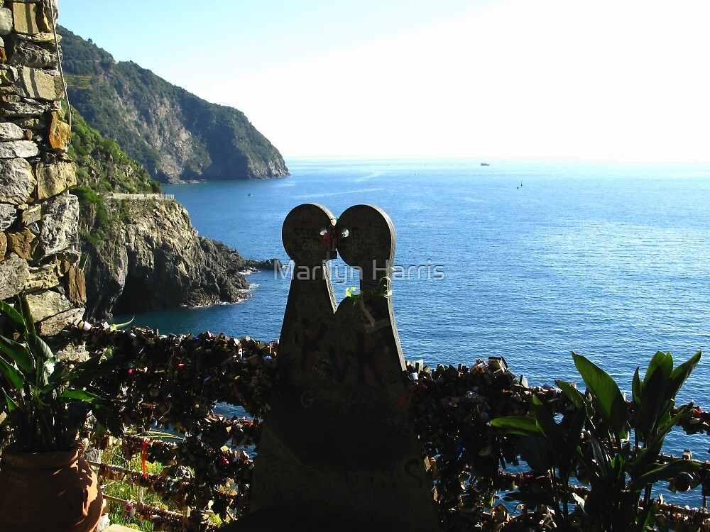 Love is in the Air - Cinque Terre, Italy by Marilyn Harris