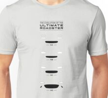 The Evolution Of The Ultimate Roadster (NA, NB, NC, ND) Unisex T-Shirt