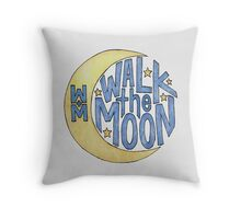 Walk the Moon Logo Throw Pillow