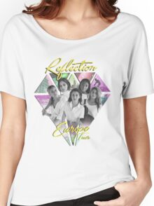 Fifth Harmony // Reflection European Tour (Yellow) Women's Relaxed Fit T-Shirt