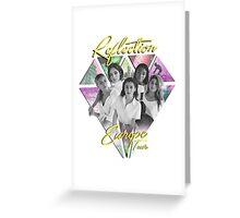 Fifth Harmony // Reflection European Tour (Yellow) Greeting Card
