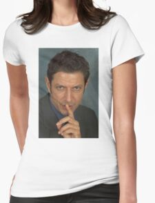 Jeff Goldblum Womens Fitted T-Shirt