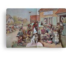 The Children's Picture Book Canvas Print