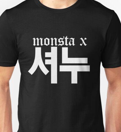 Monsta X Shownu Name/Logo 2 Unisex T-Shirt