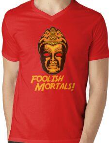 Foolish Mortals Mens V-Neck T-Shirt